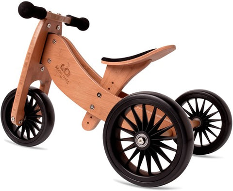 Driewieler en loopfiets 2-in-1