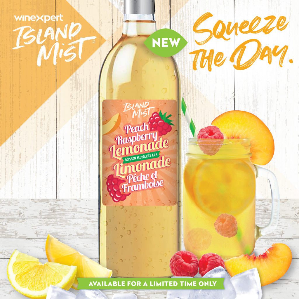 Island Mist Peach Raspberry Lemonade