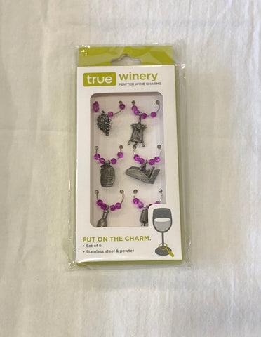 Pewter Wine Charms