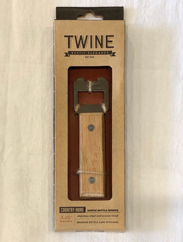 Twine Country Home Rustic Bottle Opener