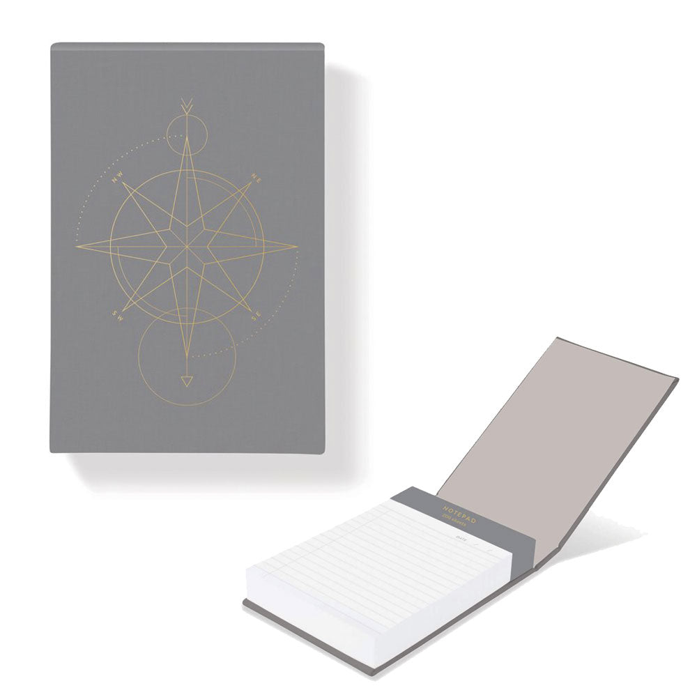 Libreta Jewel Compass Notepad