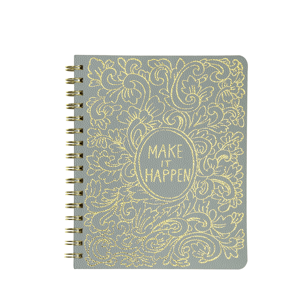 Cuaderno Anillado - Make it Happen