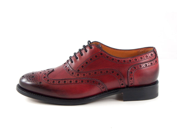 Full Brogue in rot