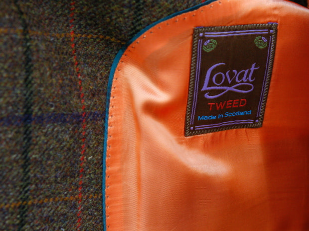 Tweedsakko in 3-Knopf Classic aus Lovat Tweed