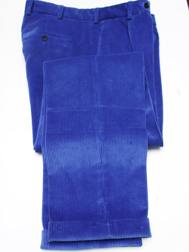Cordhose Brisbane Moss, Farbe: Royal Blue