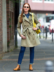 Mantel: Damen Trenchcoat | John Crocket – Fine British Clothing