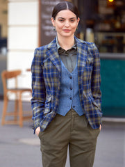 Tweedblazer aus Alexanders of Scotland Tweed