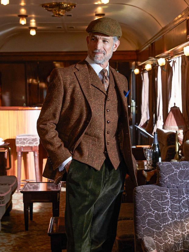 Weste: Tweedweste aus John Hanly Tweed | John Crocket – Fine British Clothing