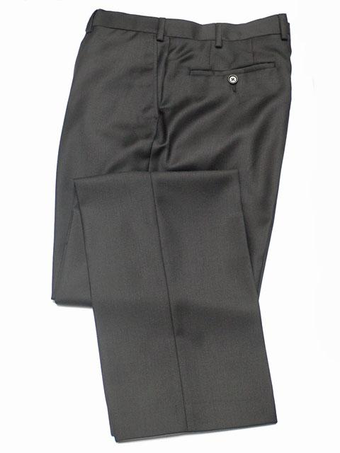 Hose: Slimline Anzughose in schwarz | John Crocket – Fine British Clothing