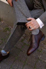 Anzug: Tweed Anzug in 3-Knopf Classic aus Moon Tweed | John Crocket – Fine British Clothing