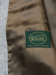 Weste: Tweedweste Back and Front aus Magee Tweed | John Crocket – Fine British Clothing