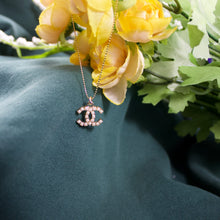 Load image into Gallery viewer, Repurposed Pearl Chanel CC Button Necklace