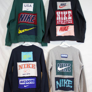 Repurposed Nike Crewneck (Mens X-Large)