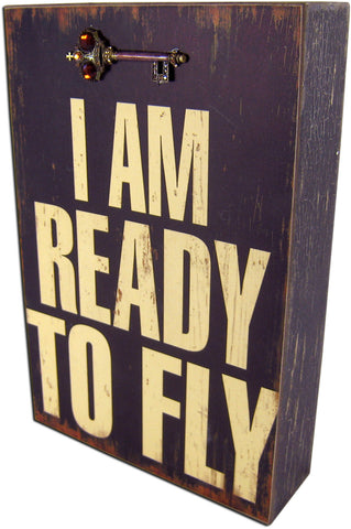 Ready to fly block | Wall Decor