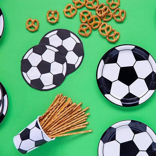 Assiettes 'Football Party' - Cuppin's