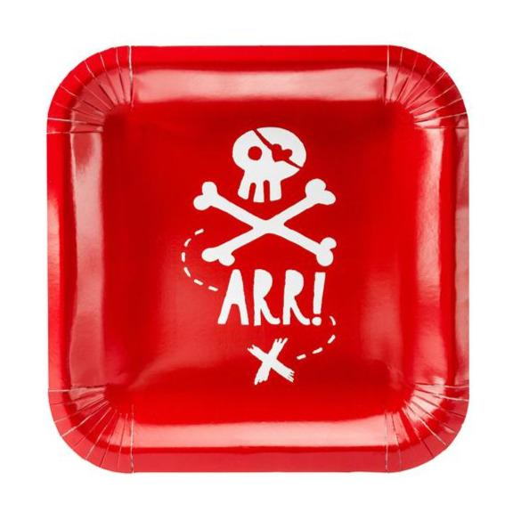 Assiettes 'Pirate Party' - Cuppin's