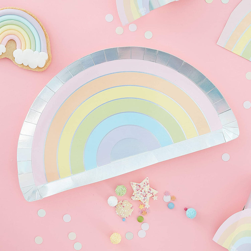 Assiettes Rainbow - Cuppin's