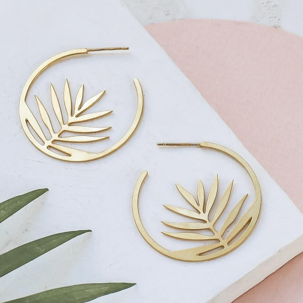 Boucle d'Oreille - Palm - Cuppin's