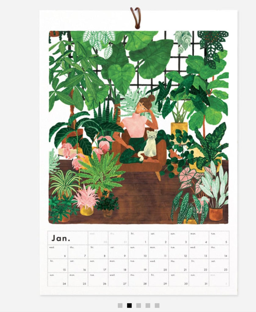 Calendrier - Botanical kingdom - Cuppin's