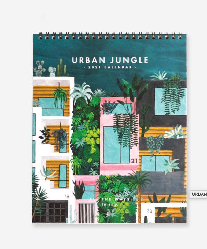 Calendrier - Urban Jungle - Cuppin's