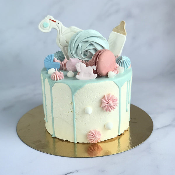 "Gâteau ""Baby shower- Mix"" - Arôme Vanille - REVEAL - Cuppin's"