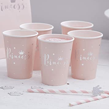 Gobelets Princesse - Ginger Ray - Cuppin's