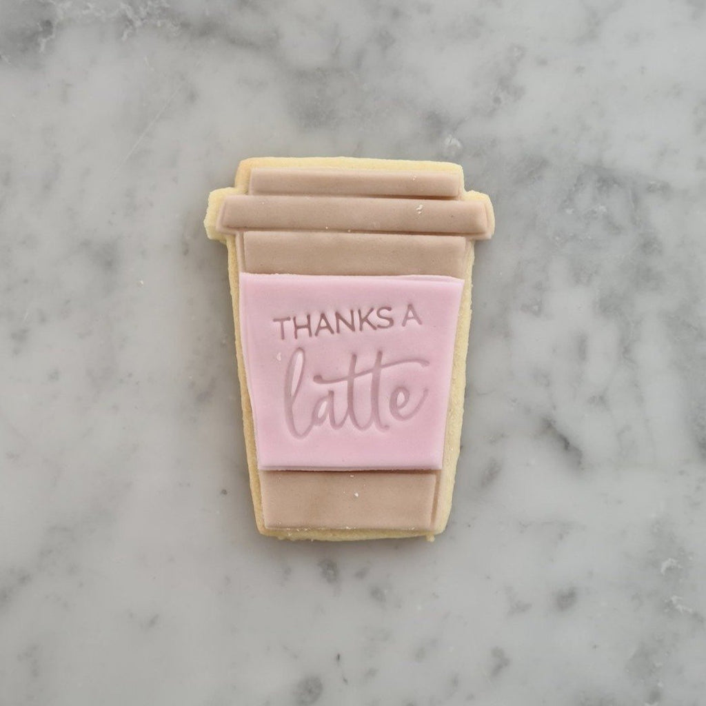 Latte Biscuits - Rose - Cuppin's