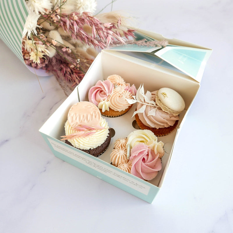 Mother's 'Flowers' Box - Cuppin's