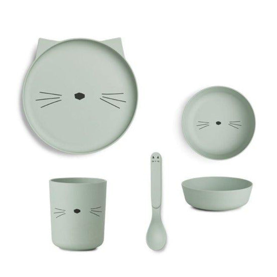 Set de Vaiselle 'Chat' - Cuppin's
