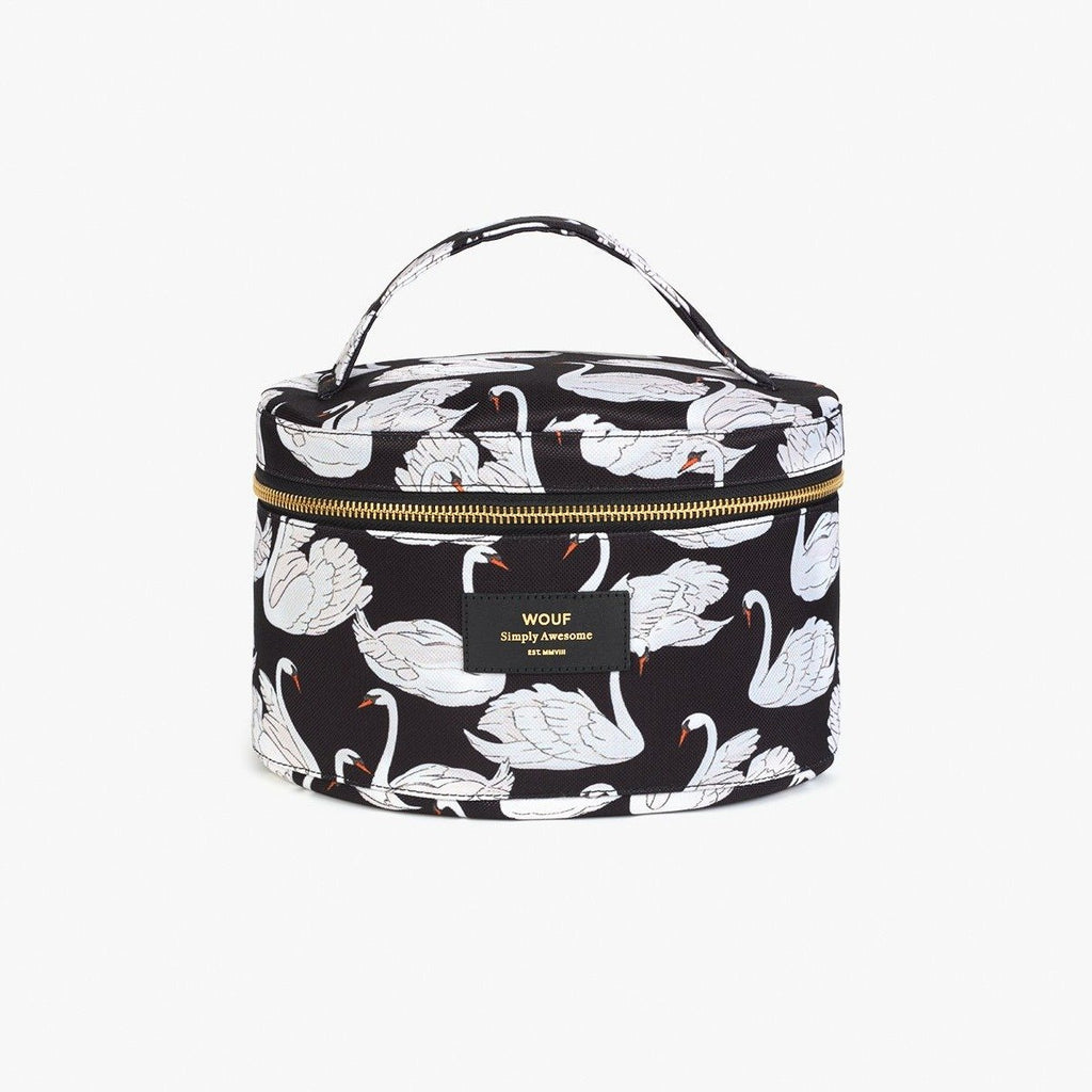 Swan - XL Makeup Bag - Cuppin's