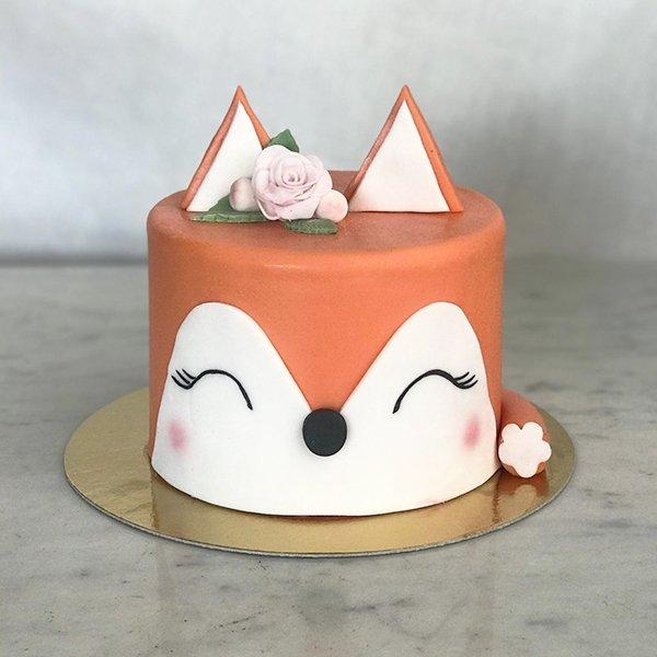 VEGAN Gâteau 'Lady Fox' - Cuppin's