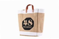 MG Piccadilly Hessian Bag-Large
