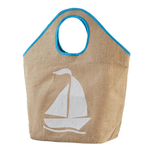 Sailboat Linen Shopper