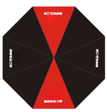 New MG3 Red Stripe Golf Umbrella