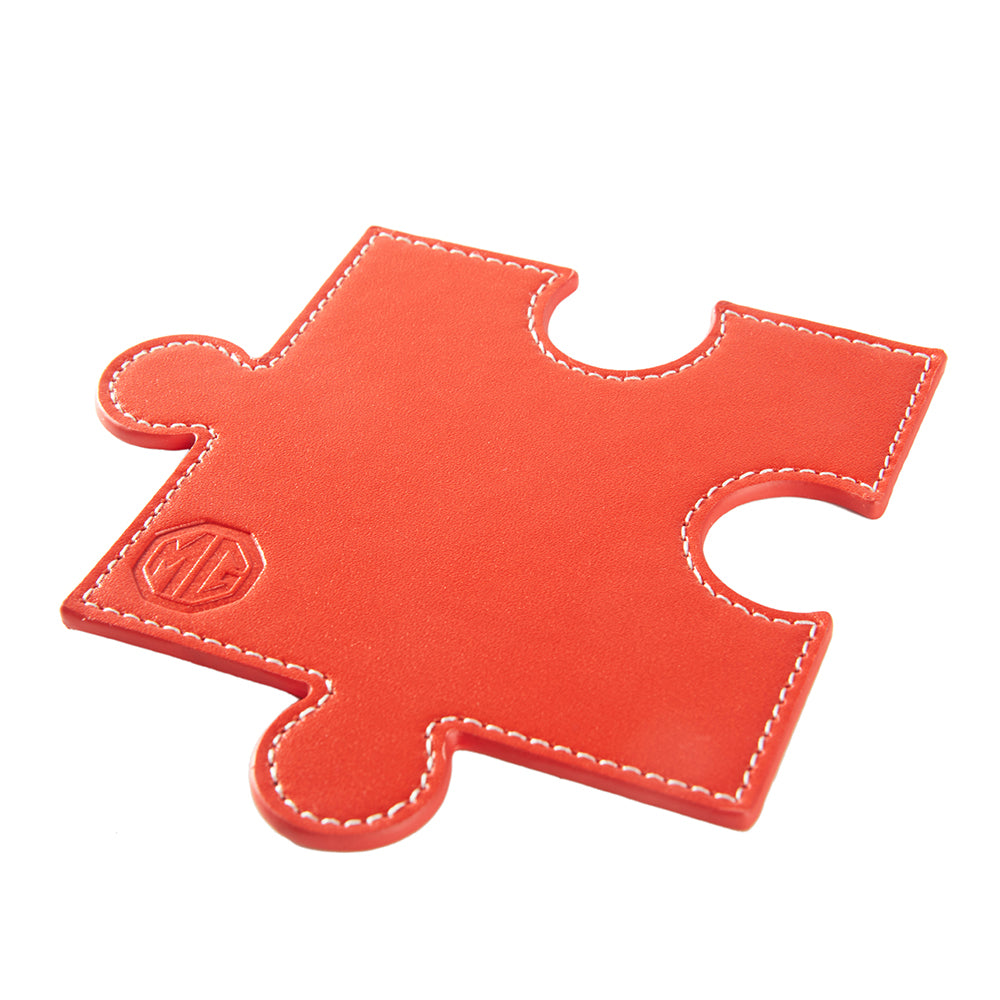 MG 6 Piece Coaster Puzzle - Red