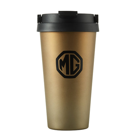 MG Gold Travel Mug