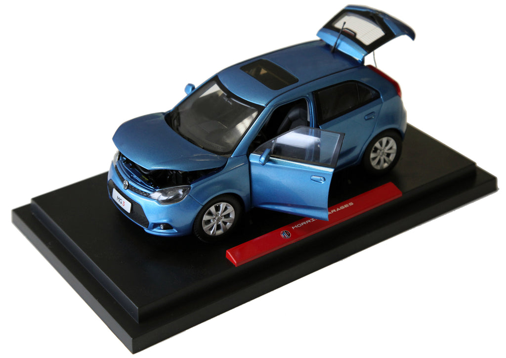 MG3 Model car - Blue 1:16 scale