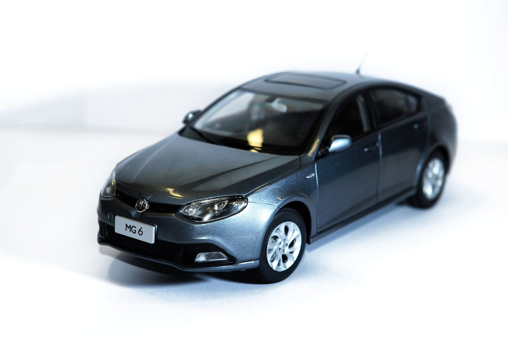 MG6 Model Car - Grey 1:16 scale