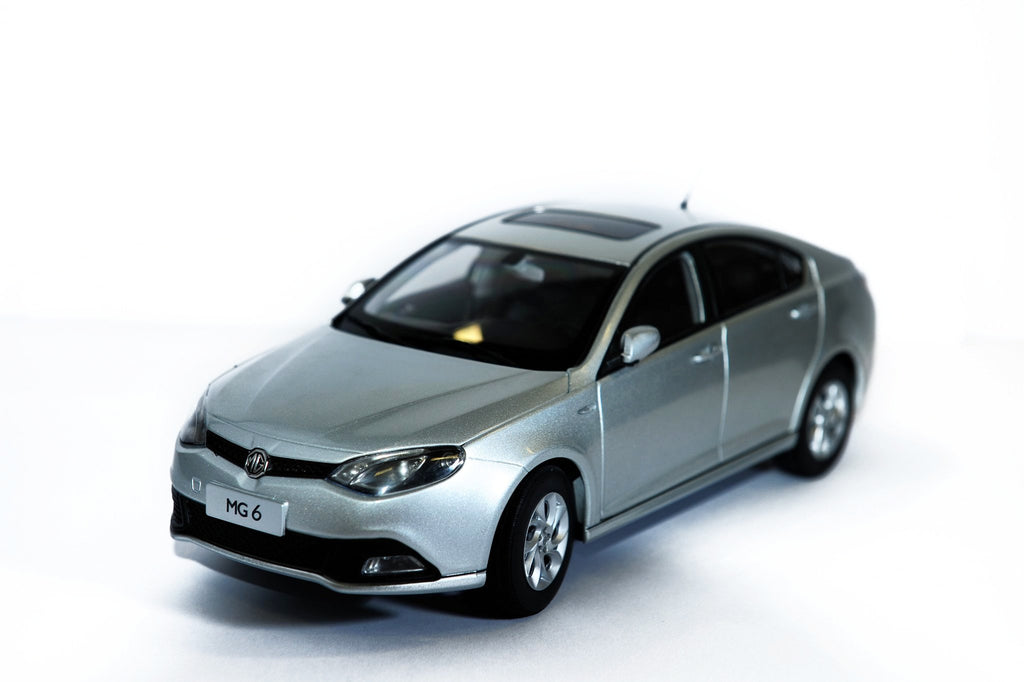 MG6 Model Car - Silver 1:16 scale