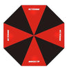 New MG3 Black/Red Alternating Golf Umbrella