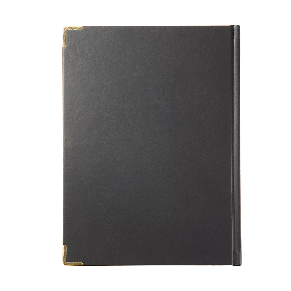 MG Black Leather Notebook