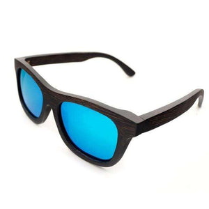 Men's Luxury Ebony Wooden Sunglasses