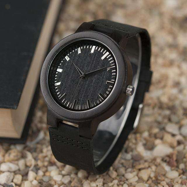 Men Watch Minimalist Original Wooden