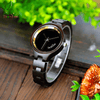 Women's Luxury Design Wooden Watch (choice of ebony or maple wood)