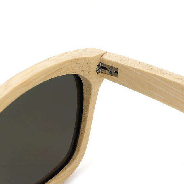 Minimalist Design Natural Bamboo Sunglasses