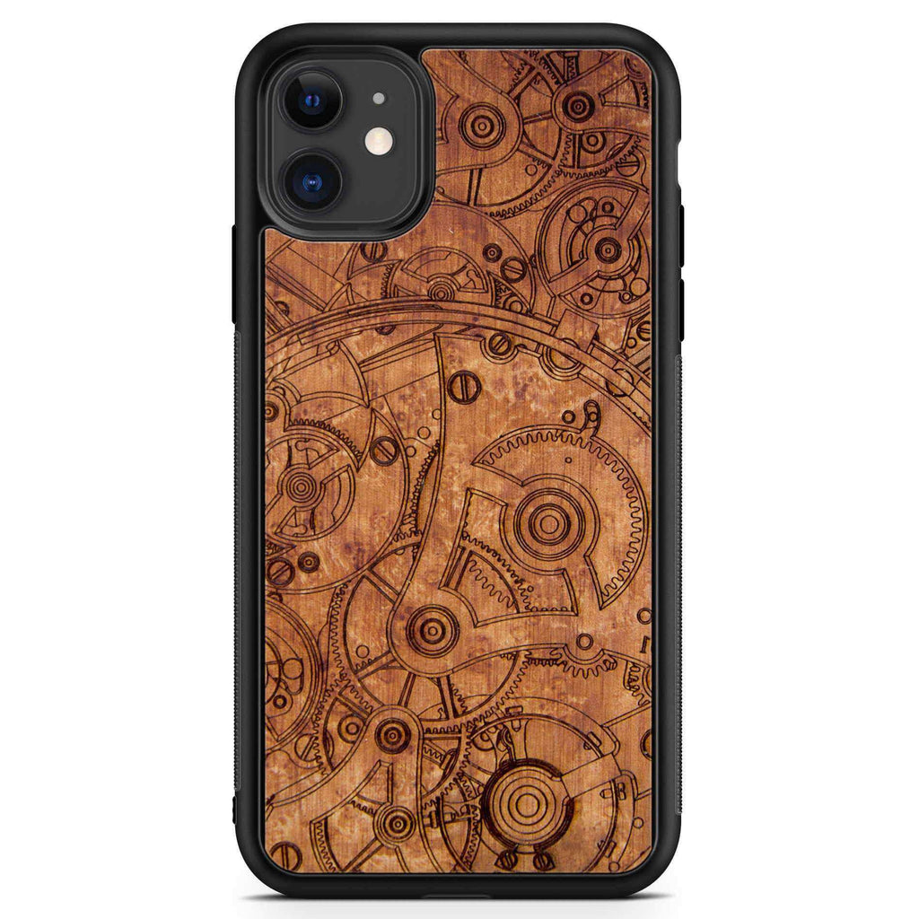 Mechanism - Madrona Wood Phone Case