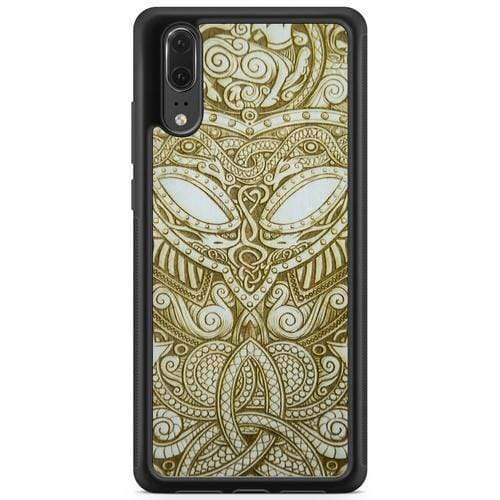 Viking - White Wood Phone Case