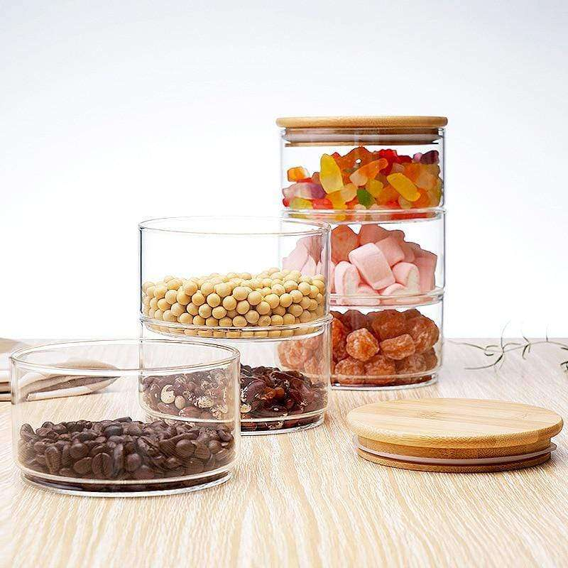 Heat Resistant Glass Jars