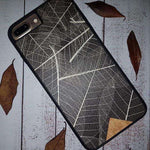 Organic Phone Case - Skeleton Leaves