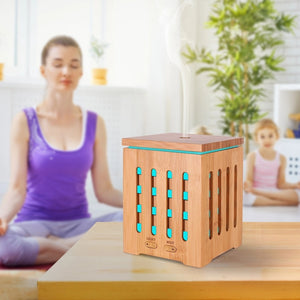 200 ML Ultrasonic Aromatherapy Diffuser with Real Bamboo Cover